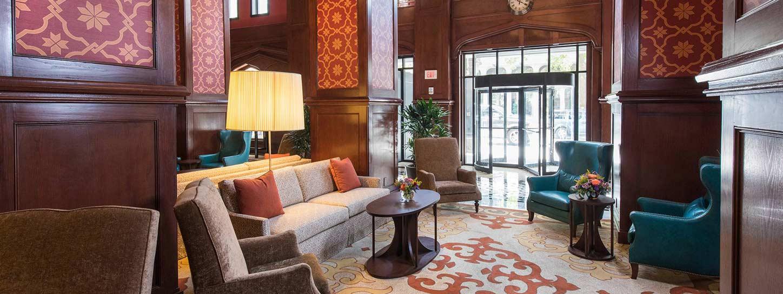 Skirvin Hilton Room