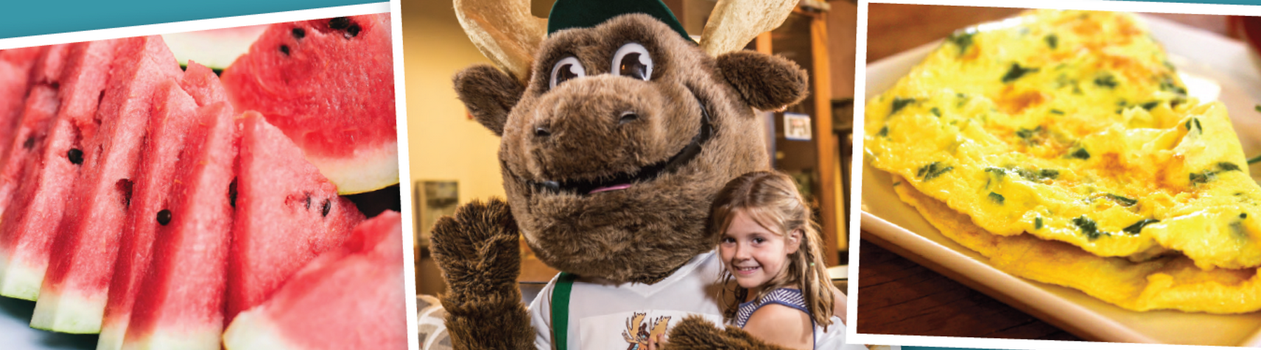 Bruce the Moose Character Breakfast at Timber Ridge