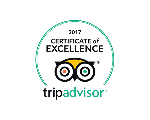 2017 Trip Advisor Certificate of Excellence Logo