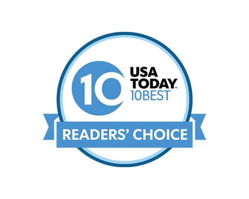 USA Today's 10 Best Readers' Choice Award