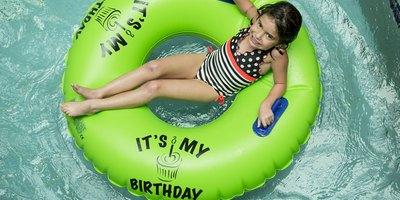 Birthday tube for the Birthday child