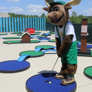 Mini golf at Timber Ridge