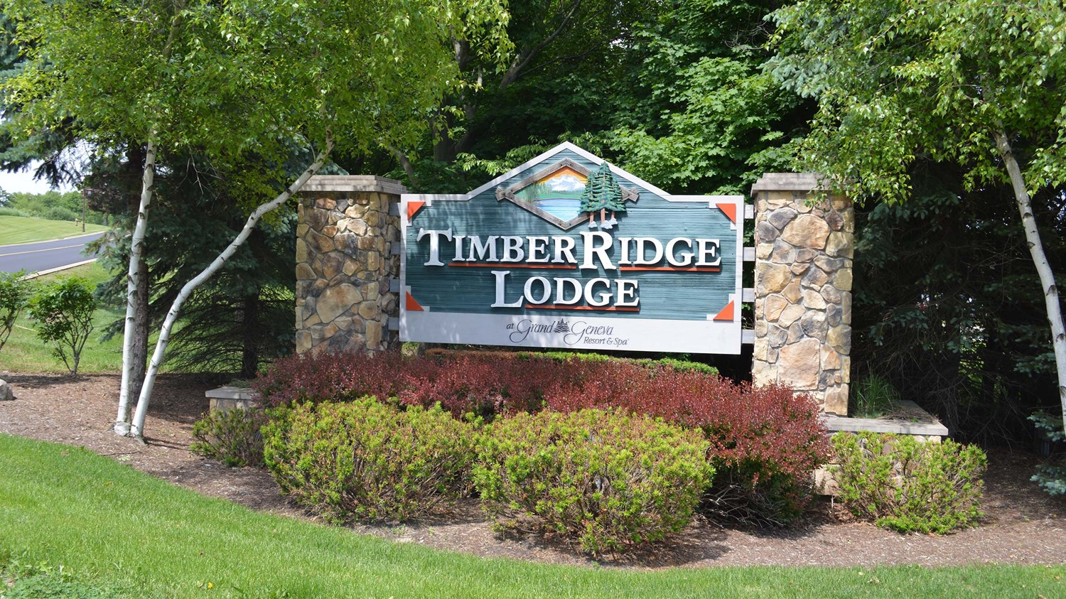 Timber Ridge Welcome Sign