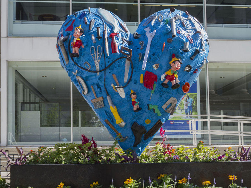 The Heart Called After The Flood | Jim Dine | Sculpture ...