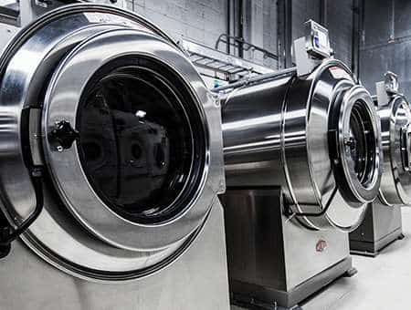 Large scale washing machines