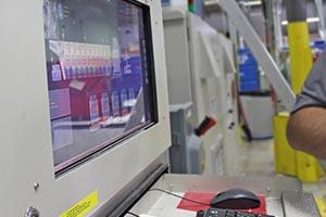 Electronic laundry system